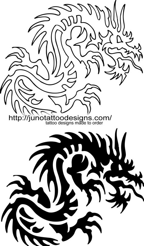 free dragon tattoos designs designs free archives how to create a 100