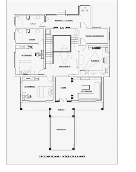 amazing 1000 sq ft double floor house plans in kerala with 2900 square feet 4 bedroom double floor amazing home