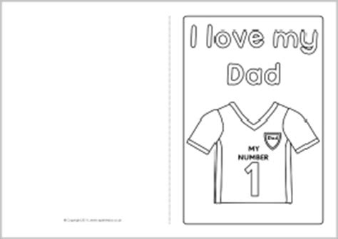 fathers day template s day card colouring templates sb4935 sparklebox