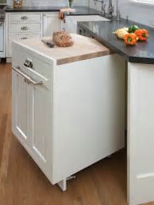 kitchen mobile island 17 helpful kitchen storage hacks pretty designs