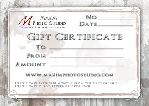 gift certificate design your own best photos of make your own gift certificates make your