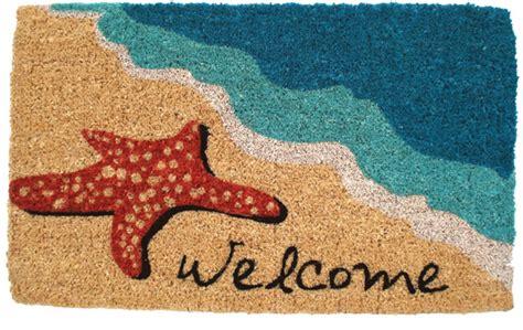 Fiber Doormat by Starfish Welcome Coconut Fiber Doormat