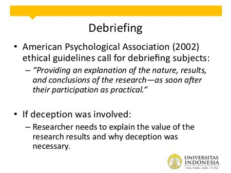 debriefing form template psychology debriefing in experiment