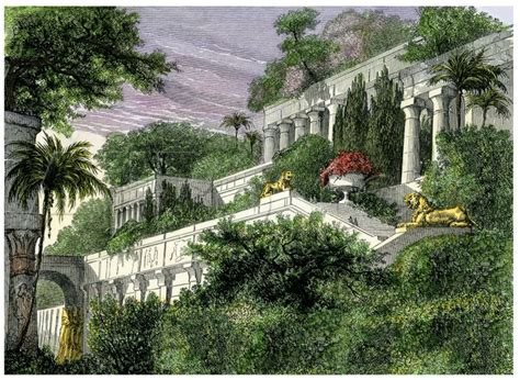 Gardens Of The Ancients - babylon s hanging gardens one of the seven wonders of the