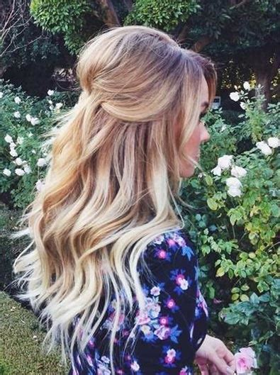 half up half down teased hairstyles 26 stunning half up half down hairstyles stayglam