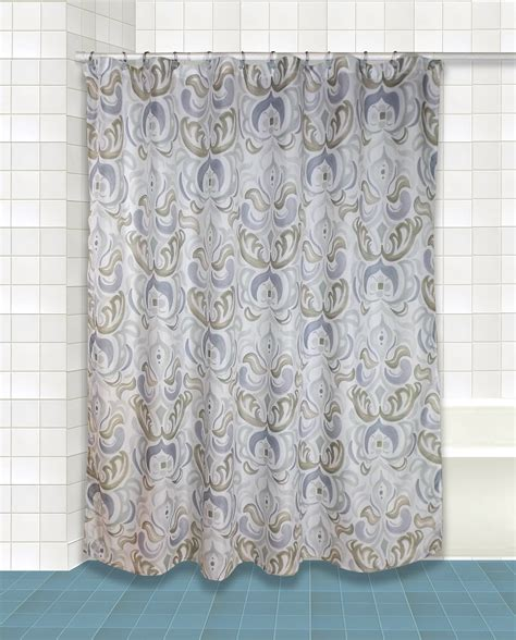 shower curtains silver circus shower curtain silver