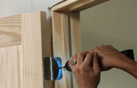 Interior Door Hinge Installation Interior Door Installing Interior Door Hinges