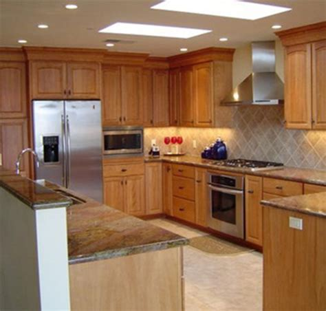 Maple Kitchen Designs Maple Kitchen Cabinets Home Designer