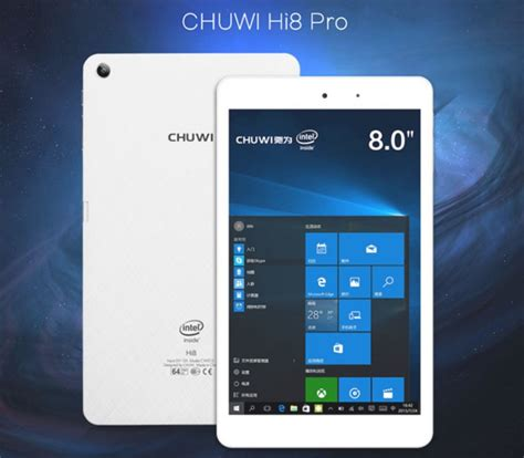install windows 10 chuwi hi8 chuwi hi8 pro windows 10 tablet now available for 95