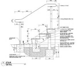 Stairs Details Dwg by Wood Stair Detail Dwg Submited Images
