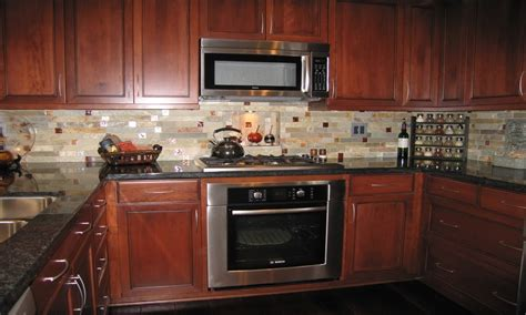 custom kitchen backsplash cabin storage ideas custom tile kitchen backsplash idea