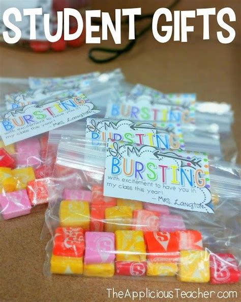 gift ideas for students from teachers best 20 open house gifts ideas on