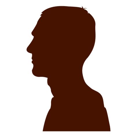 fotos para perfil varon perfil del hombre de la silueta de cuello largo