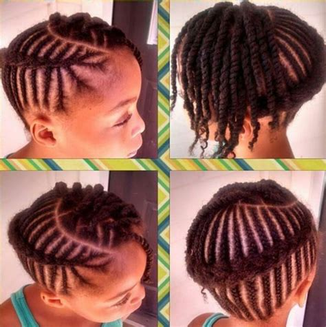 african american kids braided in mohawk african braided cornrow hairstyles for little girl