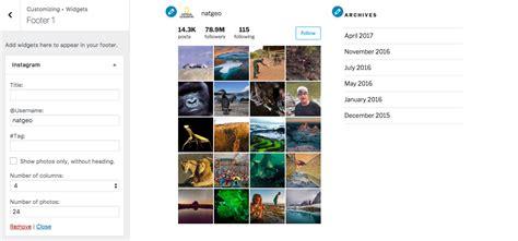 theme wordpress instagram instagram widget and shortcode plugin for wordpress