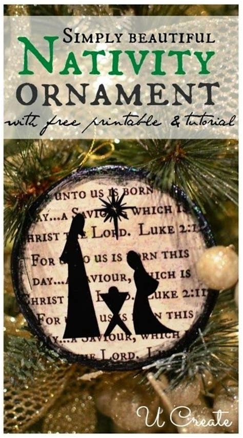 printable nativity ornaments 17 best images about christmas on pinterest nativity