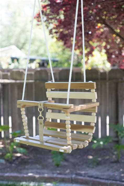 baby swing to hang from tree diy tree swing for baby