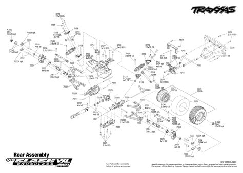 traxxas slash diagram traxxas slash 4x4 parts diagram
