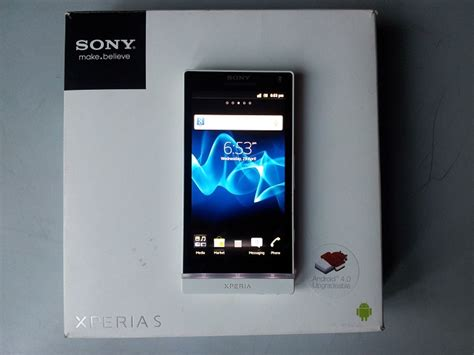 Sony Experia X1a 3 32gb Bnib 100 Original sony xperia s white boxed fresh clickbd