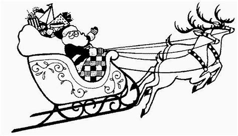 coloring pages of santa and reindeer the holiday site santa s reindeer coloring pages