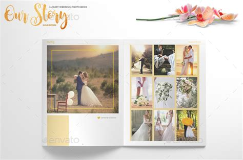 8 beautiful wedding photobook templates for designers