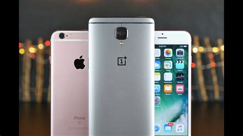 oneplus 3 vs iphone 6s ultimate comparison
