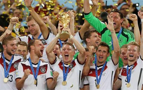 coupe du monde de football 2014 l allemagne avait programm 233 triomphe 2014 br 233 sil