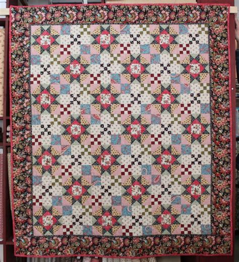 Patchwork Quilt Kits - m for mystery quiltpakketten quilt kits prins