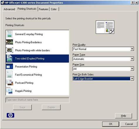 Printer Hp Yg Bisa Scan deni cara print bolak balik duplex dengan printer hp officejet 6300