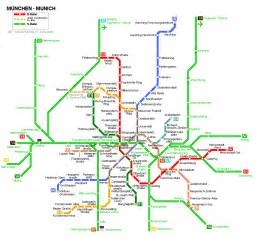 Munich Metro Map by Munich Map Detailed City And Metro Maps Of Munich For