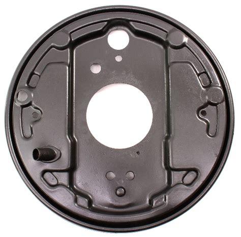 rh rear drum brake backing plate   vw vanagon