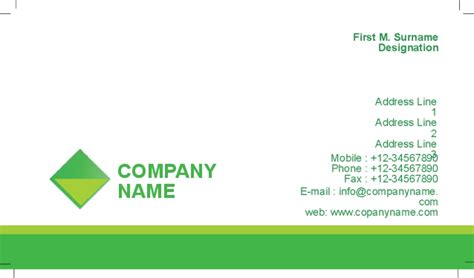 agriculture business cards templates free visiting cards