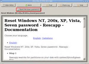reset windows xp password with ubuntu blog archives filedirect