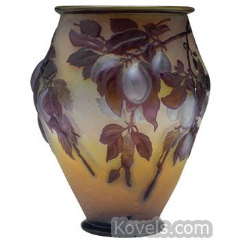 Galle Vase Antique Galle Glass Price Guide Antiques