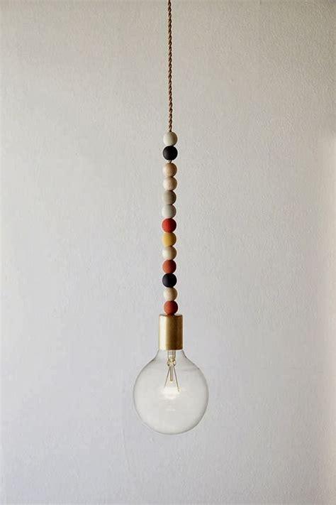 wood bead light fixture the johnston s diy wooden bead light fixture