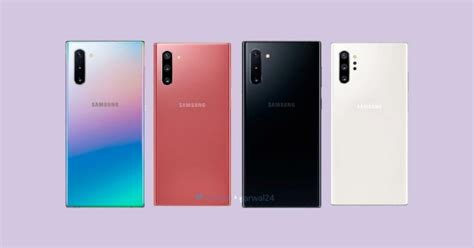 Samsung Galaxy Note 10 Plus Colors by Reported Prices Of The Samsung Galaxy Note 10 In The Us Europe Rev 252