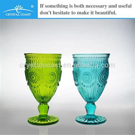 Glass Water Goblets Bulk List Manufacturers Of Goblet Color Buy Goblet Color Get