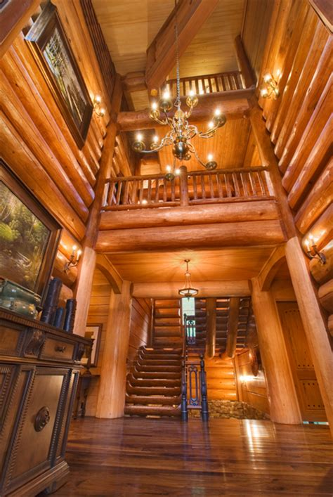 beautiful log home interiors entryways for cabins home decoration club