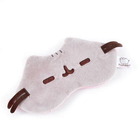 Sleeping Mask Model Kodok Dengan Bag pusheen plush sleep mask tokyo otaku mode shop