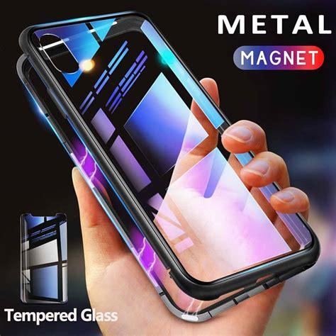 getihu metal magnetic case  iphone xr xs max