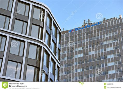 bank in essen postbank editorial stock image image 63208899