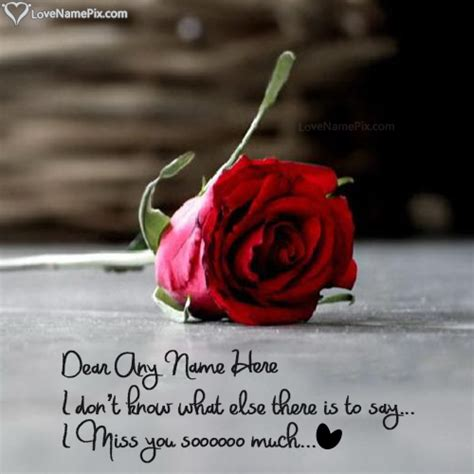 got your name written here in a rose tattoo write name on i miss u wallpaper with picture