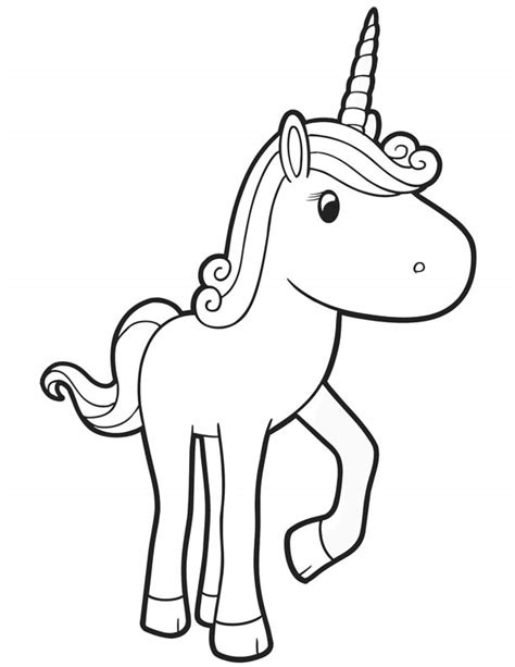 coloring pages of baby unicorns free coloring pages of little cute baby unicorn