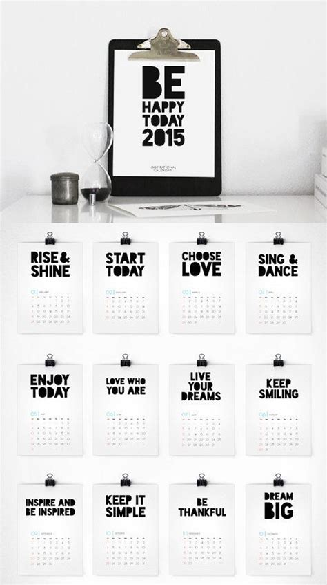 design kalender poster printable 4 and smash picmia