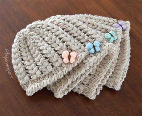 crochet gorros gorros con trenzas tejiendo per 250