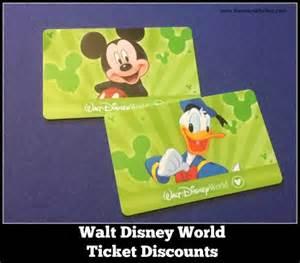World Ticket Walt Disney World Ticket Discounts