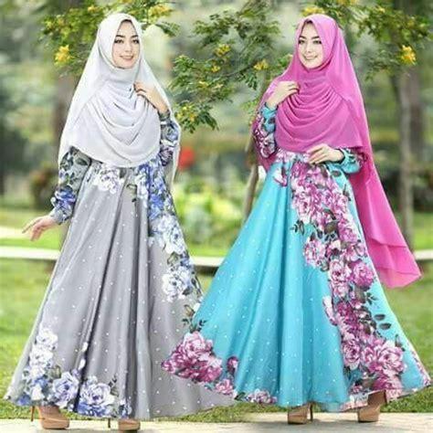 Cantika 2 Tunik by Baju Gamis Maxmara Motif Bunga Terbaru Cantika Baju
