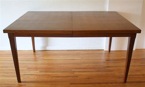Folding Dining Table 2 Picked Vintage Mcm Dining Table 2 Extension Leaves 2 Picked Vintage