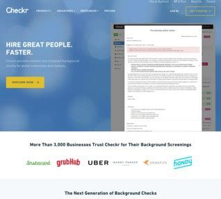Grubhub Background Check Checkr Careers Funding And Management Team Angellist