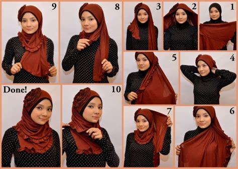 tutorial memakai lipstik yang benar cara memakai hijab atau jilbab yang baik dan benar